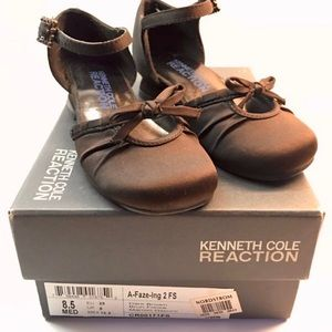 Kenneth Cole Reaction Dressy Brown Girl's Shoes